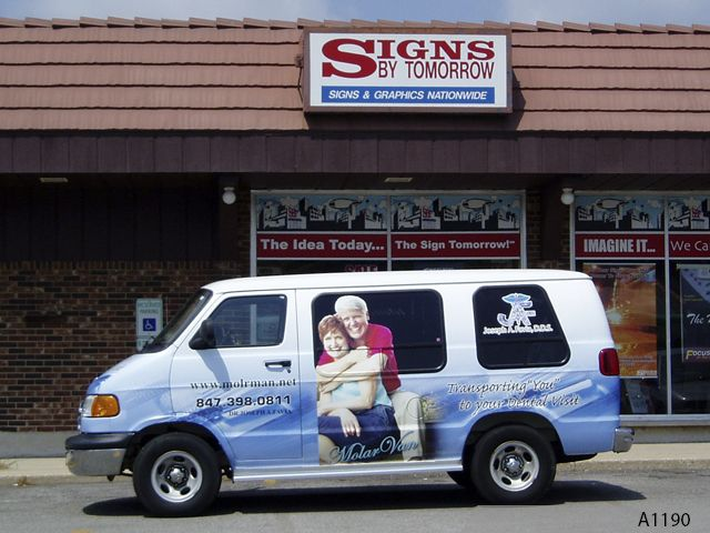 Signage Northern Illinois Vehicle Wraps Vinyl Lettering - Vehicle decals for business