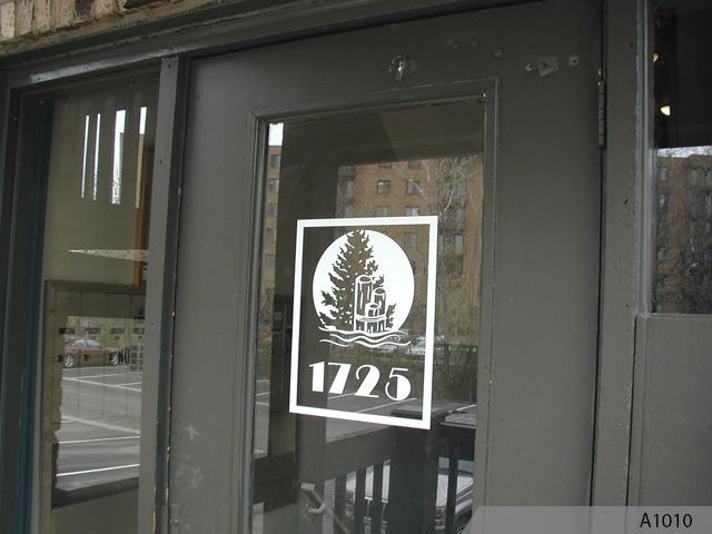 Add A Logo And Your Phone Number To Business Front Windows Get An Inexpensive Solution Attracting Potential Customers