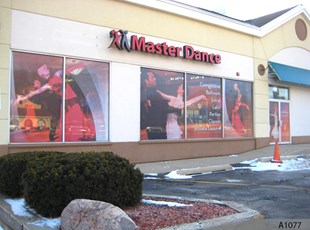 Channel Letters and Perforated Window Film - Palatine, IL