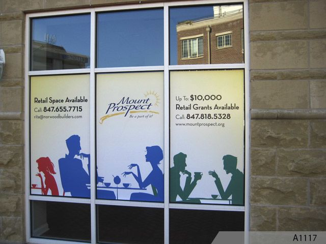Signs Northern Illinois Elk Grove Village IL Vinyl Lettering - Window stickers for business