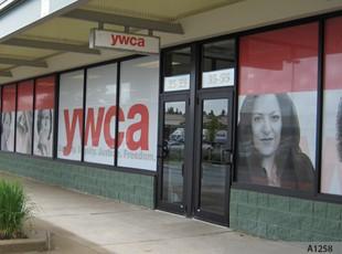 Perforated Vinyl - YWCA - A1258