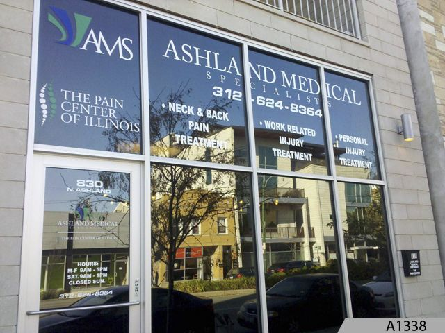 Sign Company Northern Illinois Window Decals Business Signs - Window decals for medical offices