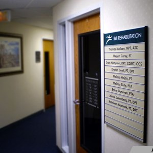 Indoor Company Directory Sign