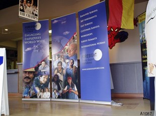 Retractable Banner Stands - great for Trade Shows