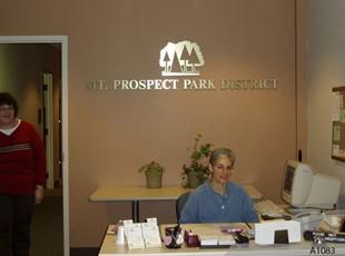 Mt.Prospect Park District - Dimensional Logo Sign
