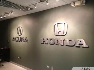 3-Dimensional Honda Logo Signage