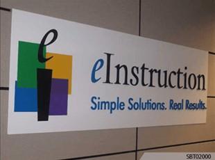 Indoor Plsastic Sign SBT 02000