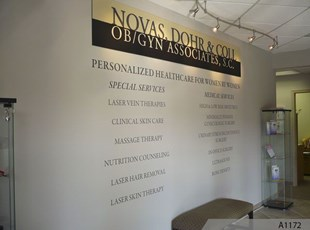 Vinyl Lettering and 3-Dimensional PVC Letters