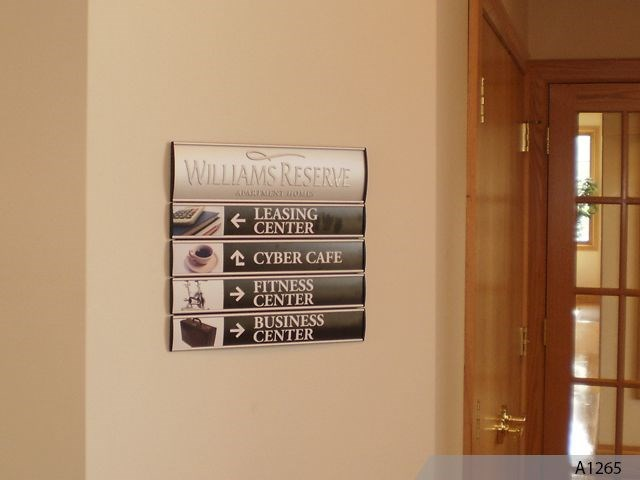 Custom Indoor Directory Signs Signs By Tomorrow Of