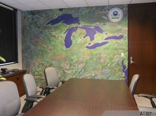 Wall Mural for EPA office in Chicago