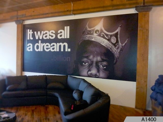What are the possible uses for wall graphics?