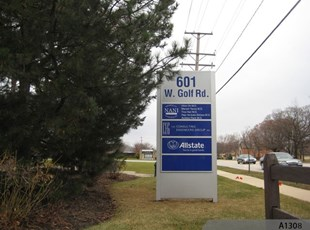 Tenant Directory Monument Sign, Arlington Heights