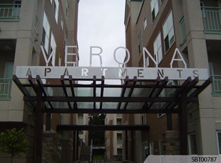 Apartment Outdoor Dimensional Lettering