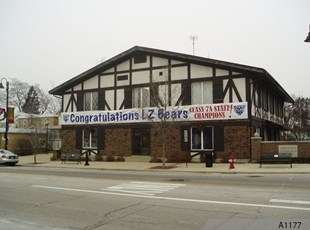 60' Building Banner for Village of Lake Zurich