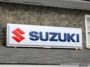 Suzuki Car Dealership Outdoor Lightbox with Vacuum Formed Embossed Pan Face