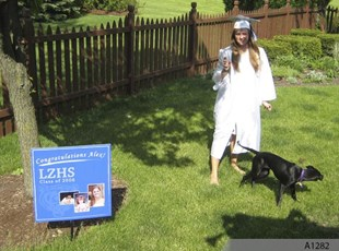 High School Graduation Lawn or Coroplast Sign