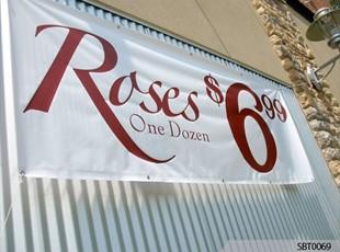 Retail Vinyl Banner