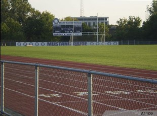 94' Mesh Banner for Rolling Meadows High School