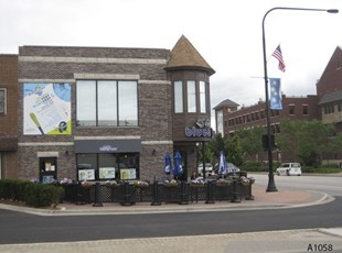 Large Building Banner & Pole Banner - Mt. Prospect