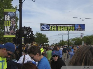 Street and Pole Banners to welcome Lee Dewyze
