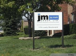 Aluminum Post & Panel Company Sign - Elk Grove