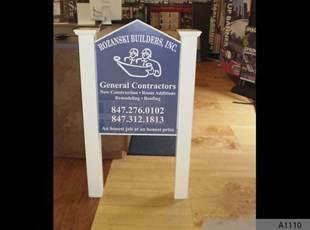 Easy to move and to install Construction Signs