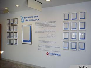 Brighten Life Ambassador Recognition Wall