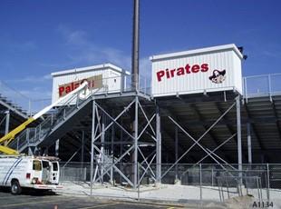 Press Box / Stadium Sigs, Palatine High School