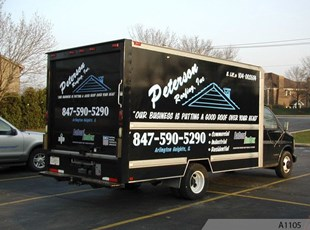 Box Truck Graphics Peterson A1105