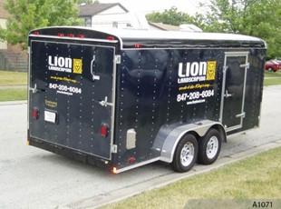 Trailer Graphics Lion A1071