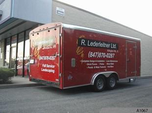 Trailer Graphics Lederleitner A1067
