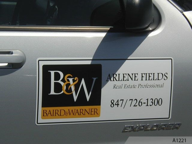 Magnetic Signs for Realtor