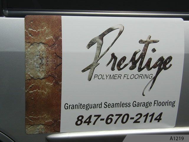 Full Color Graphics Vehicle Magnets