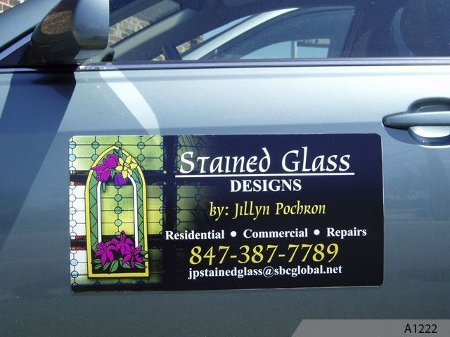 Magnetic Signs for Vehicle Doors