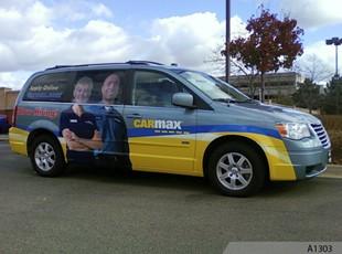 Vehicle Vinyl Wrap - CARMAX, Schaumburg, IL