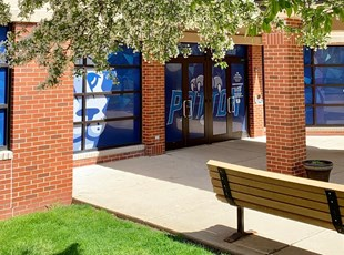 Outdoor Vinyl Lettering & Graphics | Education | Patton Elementary School, Arlington Heights, IL 60004
