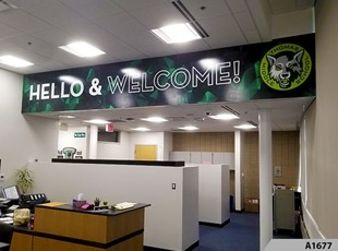 Indoor Vinyl Lettering & Graphics | Education