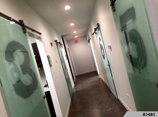 Frosted / Etched Vinyl Lettering | Indoor Vinyl Lettering & Graphics | Healthcare | Rosemont, IL