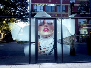 Full Color Window Graphics   Indoor or Outdoor Vinyl Lettering & Graphics   Retail   Chicago, IL