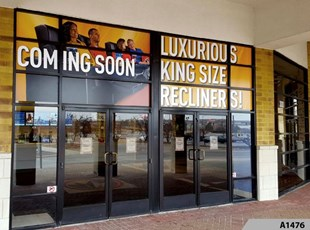Full Color Window Graphics | Outdoor Vinyl Lettering & Graphics | Retail | Randhurst Mall, Mt. Prospect, IL