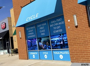 Full Color Window Graphics | Outdoor Vinyl Lettering & Graphics | Retail | Arlington Heights, IL