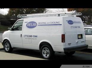 Cargo Vans | Vehicle Lettering & Graphics | Construction | Chicago IL