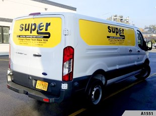 Cargo Vans | Vehicle Lettering & Graphics | Super Electric Construction Co, Chicago, IL