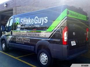 Cargo Vans | Vehicle Lettering & Graphics | Construction | Lake Zurich Illinois