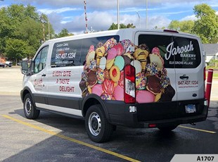 Cargo Vans | Custom Vehicle Wraps | Retail | Mundelein IL