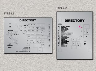 ADA Pro System - Wayfinding Map Directory Signs