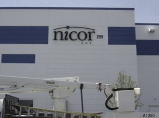 Back lit Channel Letters for Nicor - A1250