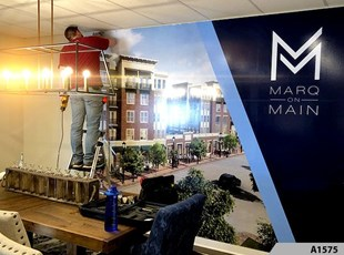 Wall Graphics Installation| Reception & Office Signage | A1575