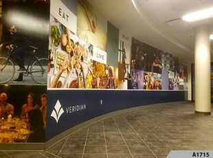 Wall Graphics & Murals | Hospitality & Lodging | Schaumburg, IL - A1715