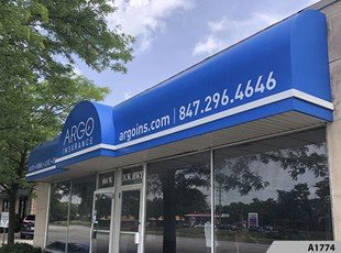 Awnings | Retail | Argo Insurance, Arlington Heights, IL